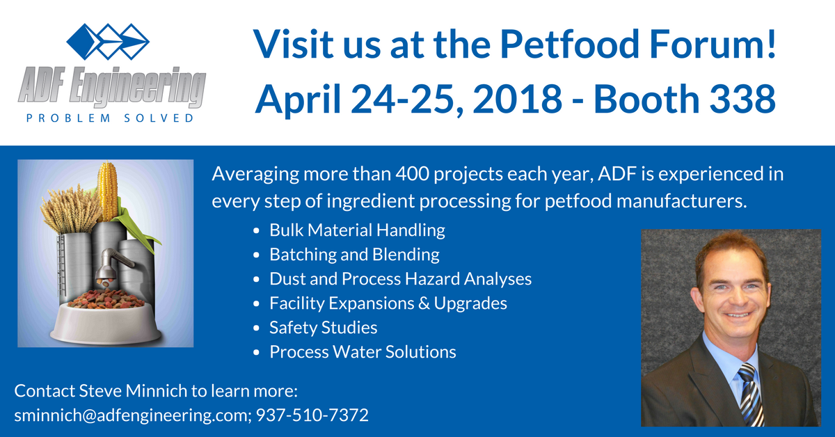 Stop By Booth 338 At The Petfood Forum