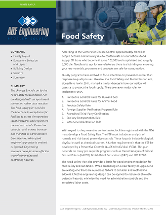ADF Food Safety